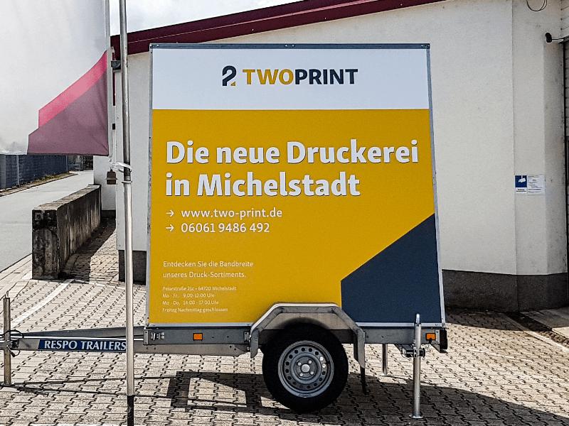 twoprint-werbeanhänger